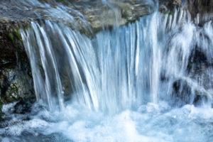 Petite chute d'eau